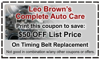 timing belt replacement - Covina, ca